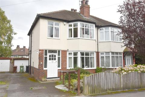 3 bedroom semi-detached house for sale - St Margarets View, Roundhay, Leeds