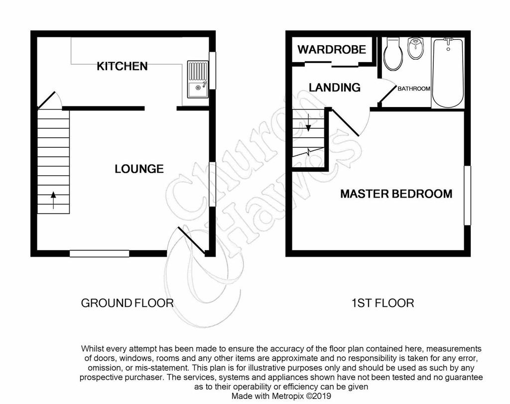 Floorplan: 26 Melville Heath South Woodham Ferrers Essex CM35 FT prin