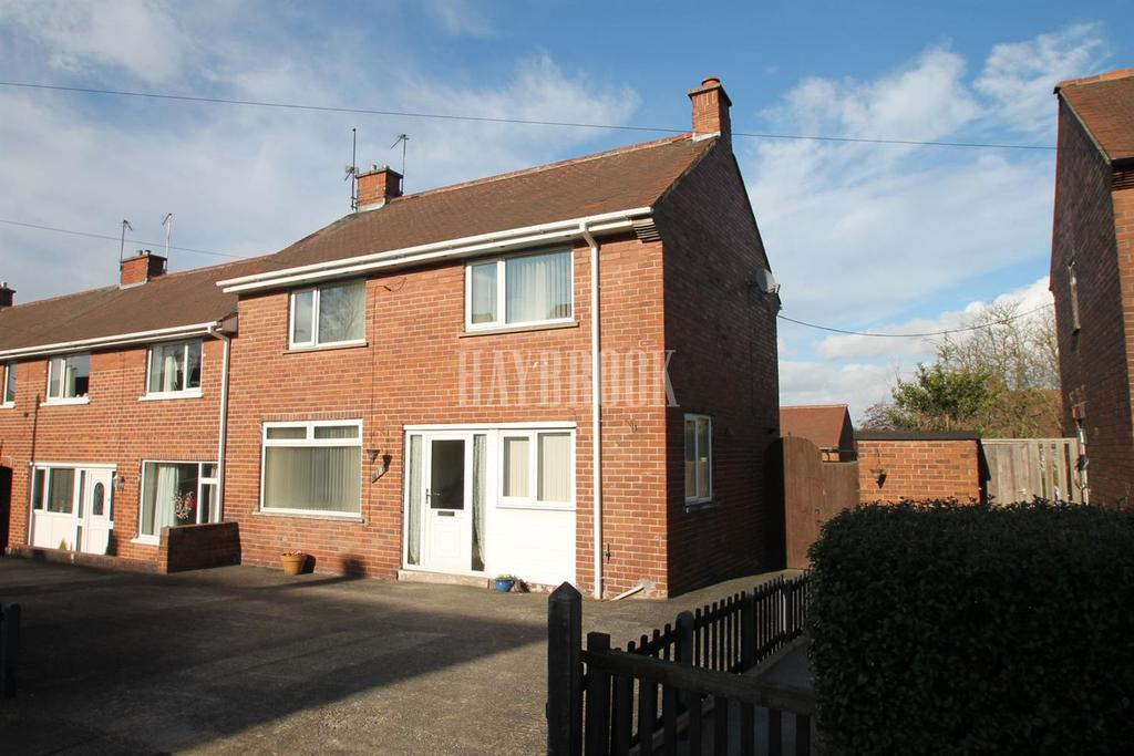 3 Bedrooms End Of Terrace House for sale in Abdy Road, Kimberworth Park