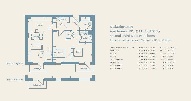Floorplan: Plot 29