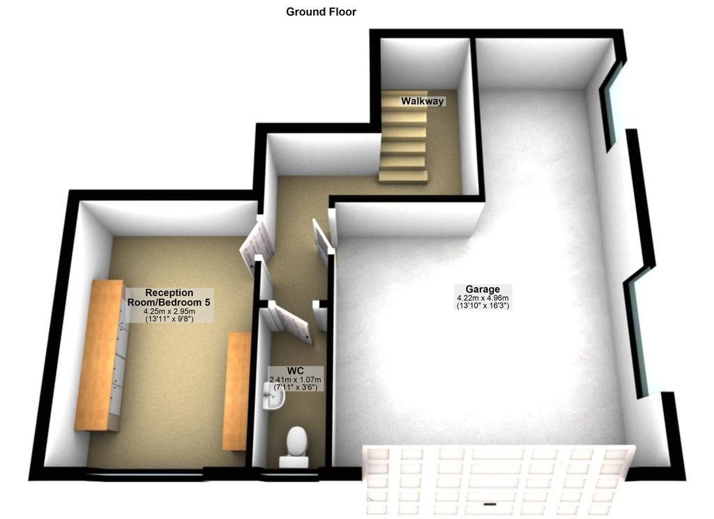 Floorplan 1 of 2: Lower Level