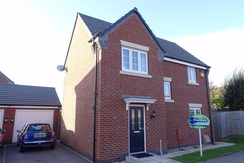 3 bedroom detached house for sale - Kinross Way, Hinckley