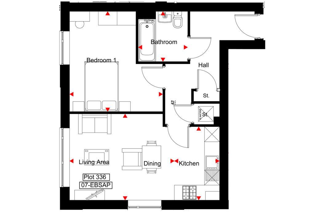 Floorplan: B5 Central