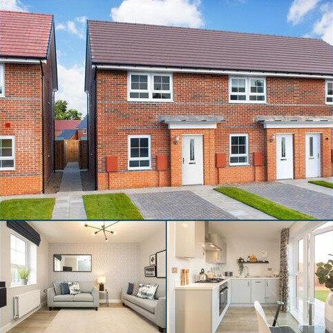 2 bedroom semi-detached house for sale - Plot 76, Kenley at Bedewell Court, Adair Way, Hebburn, HEBBURN NE31