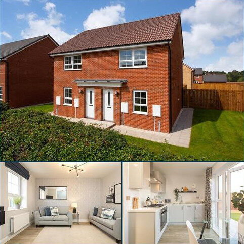 2 bedroom semi-detached house for sale - Plot 76, Kenley at Bedewell Court, Adair Way, Hebburn, HEBBURN NE31