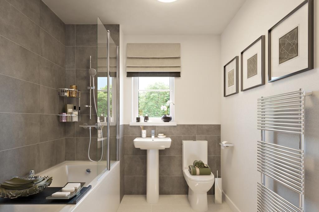 The Midhurst bathroom lounge CGI