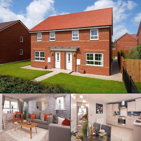 3 bedroom semi-detached house for sale - Plot 227, MAIDSTONE at Barley Fields, Barlby, Beech Croft, Barlby, SELBY YO8