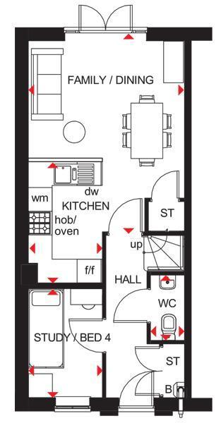 Floorplan 2 of 3: Queensvilled floorplan