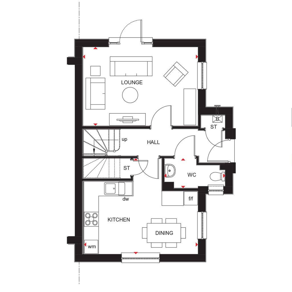 Floorplan 1 of 2: Abergeldie 2018 floorplan layout September 2019