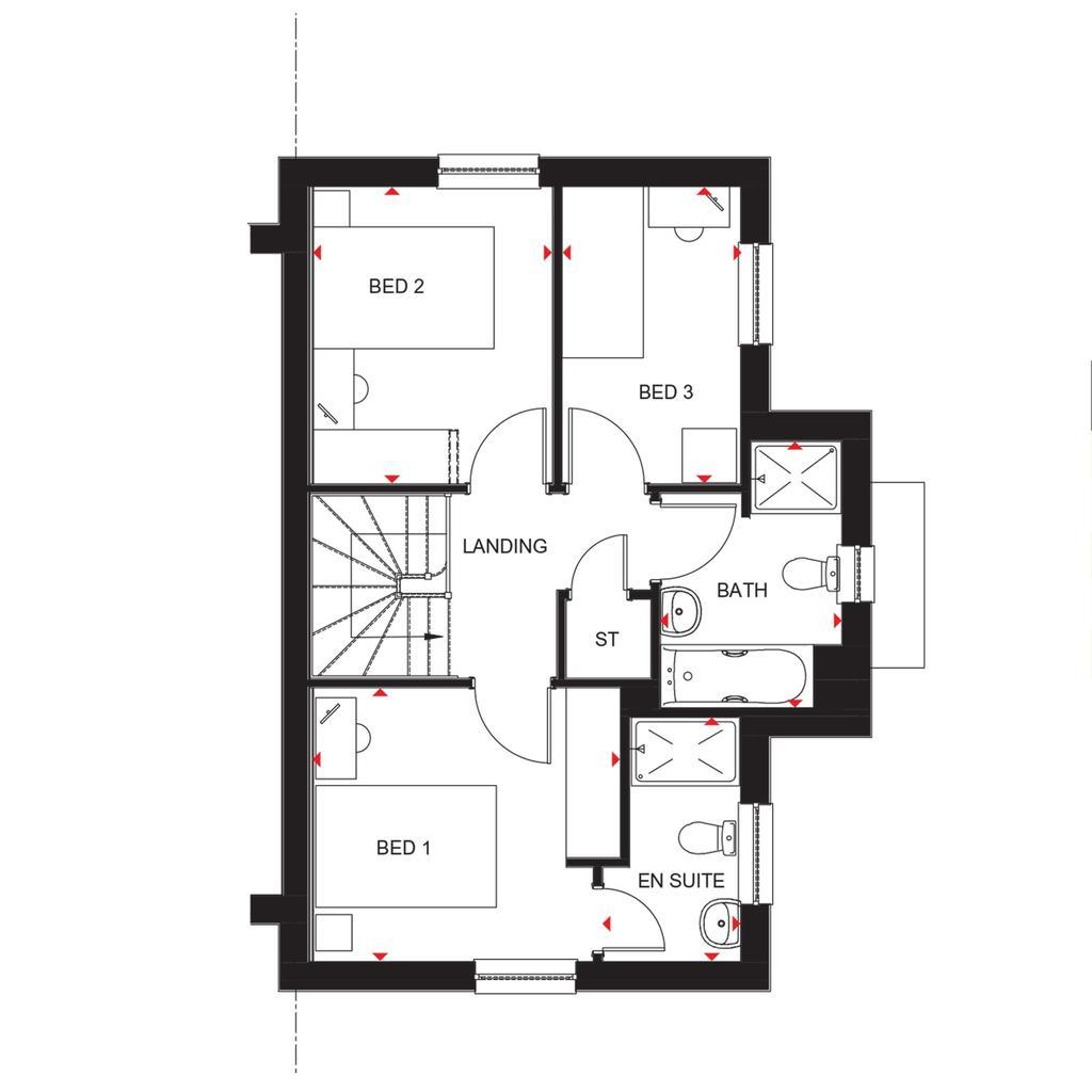Floorplan 2 of 2: Abergeldie 2018 floorplan layout September 2019