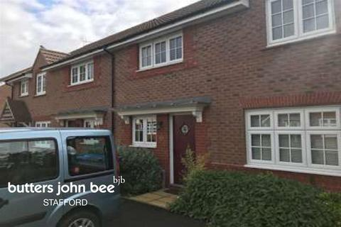 2 bedroom terraced house for sale - Campion Grove, Stafford