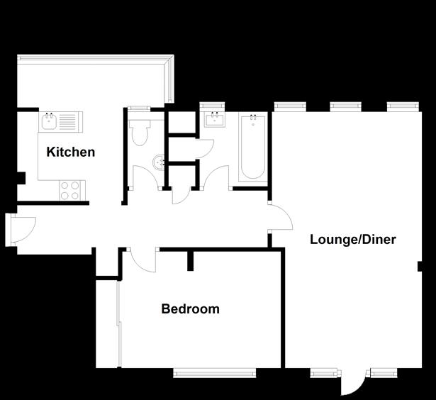Floorplan: Top Floor