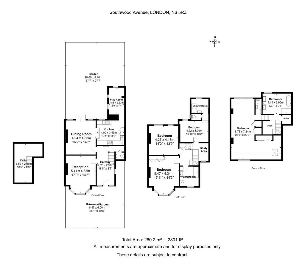 Floorplan: 14 Southwood Avenue .jpg