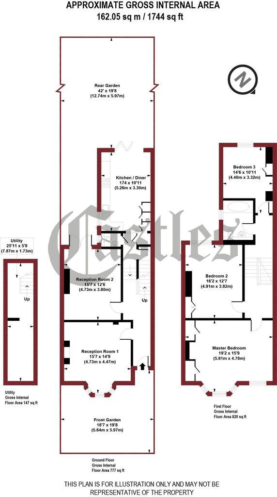 Floorplan: Tivoli Road, N8