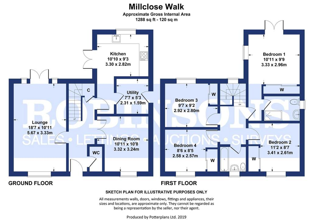 Floorplan: 6 millclose walk.jpg