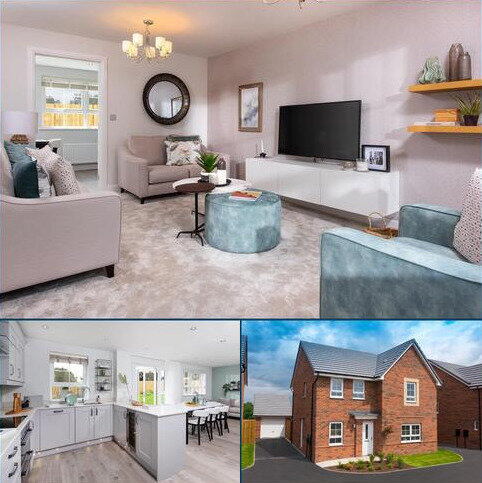 4 bedroom detached house for sale - Plot 128, RADLEIGH at Barratt Homes @Mickleover, Etwall Road, Mickleover, DERBY DE3