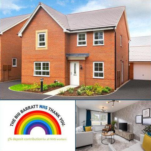 4 bedroom detached house for sale - Plot 127, RADLEIGH at Barratt Homes @Mickleover, Etwall Road, Mickleover, DERBY DE3
