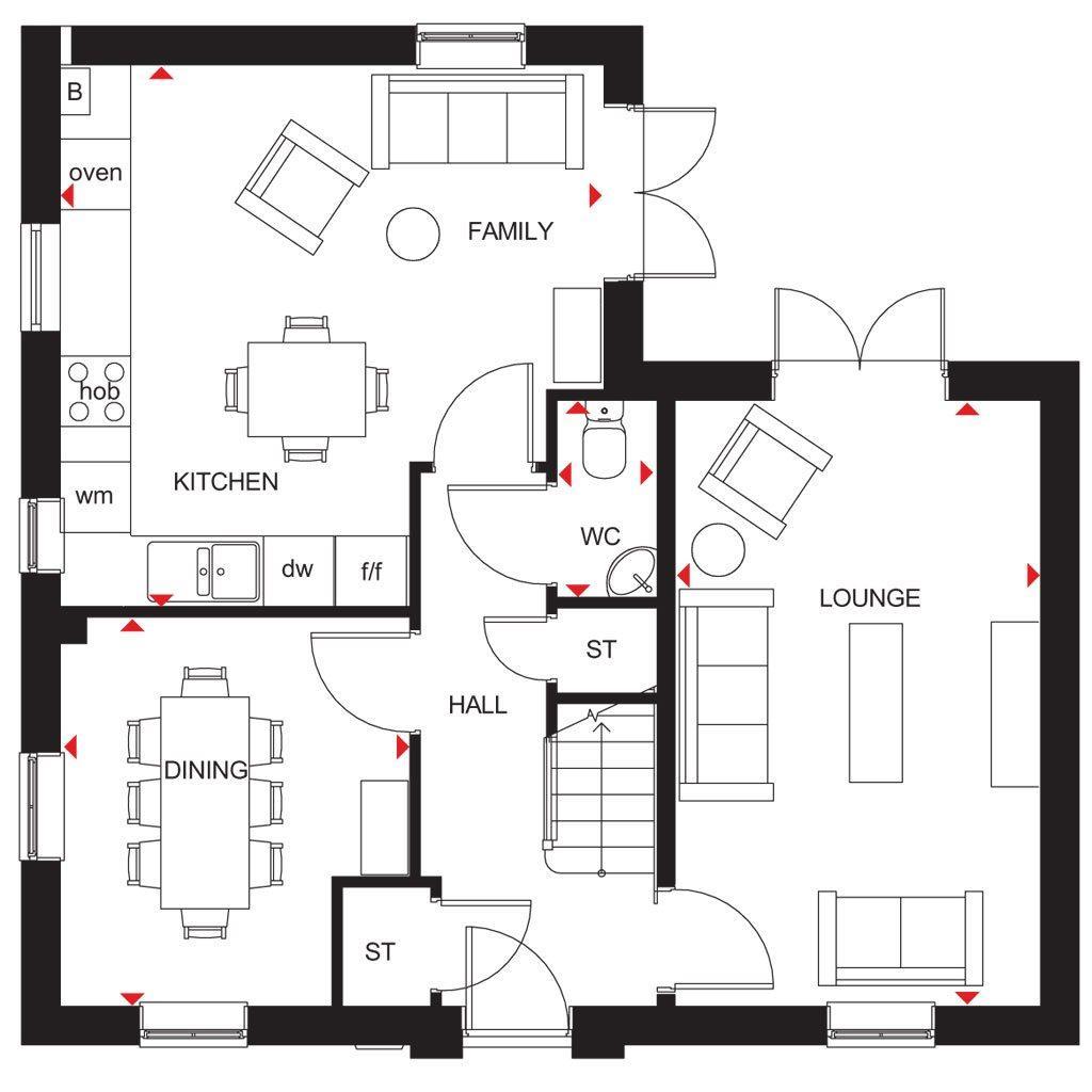 Floorplan 1 of 2: Alderney