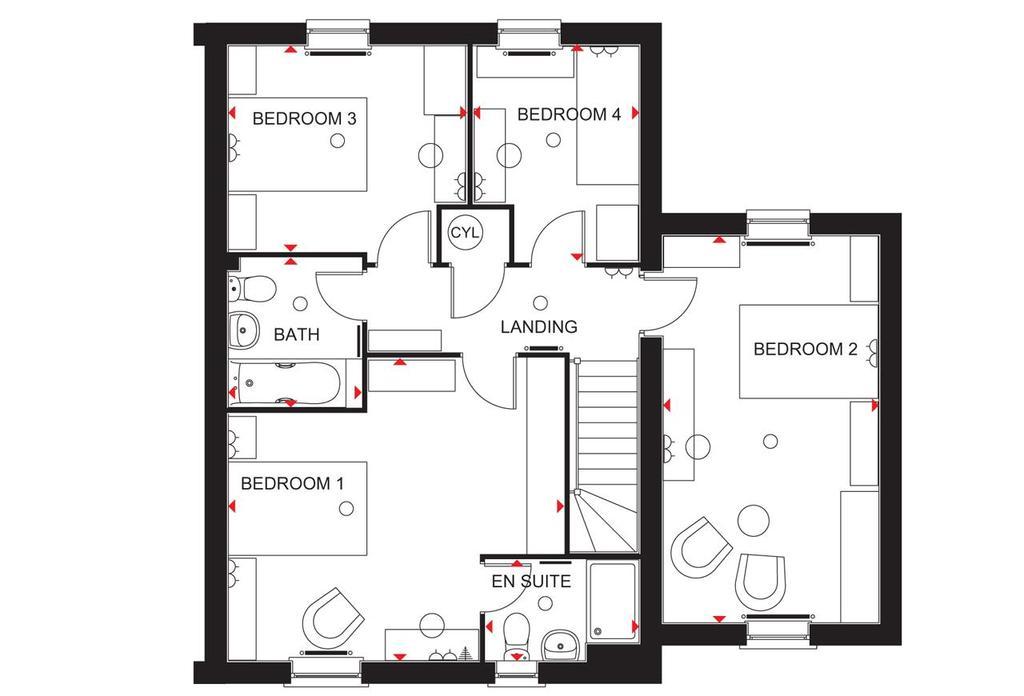 Floorplan 2 of 2: Hurst