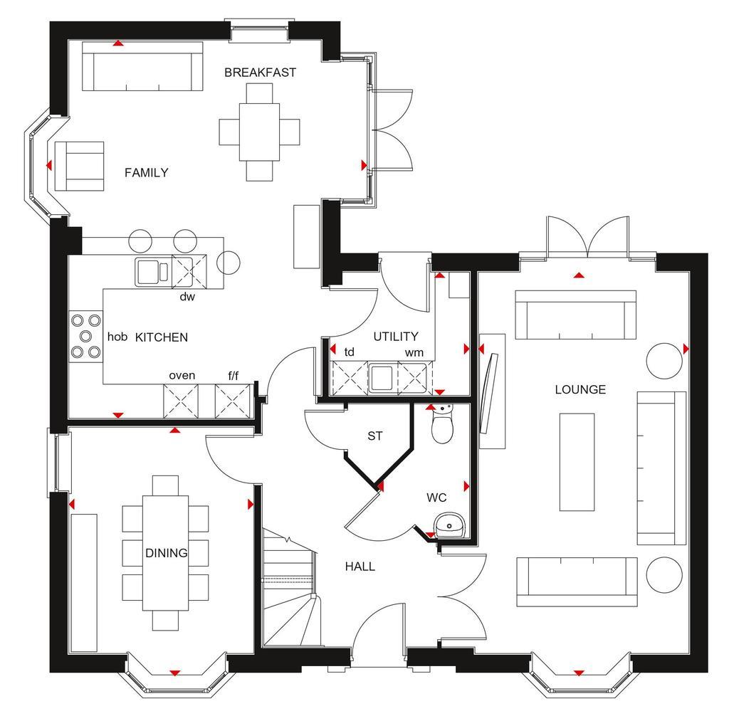 Floorplan 1 of 2: Henley GF