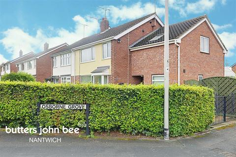 4 bedroom semi-detached house for sale - Woodnoth Drive, Shavington