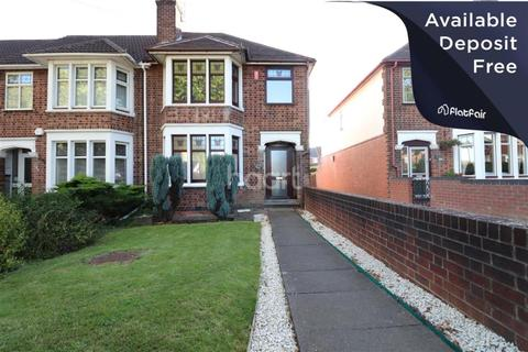 3 bedroom end of terrace house to rent - Holyhead Road, Coventry