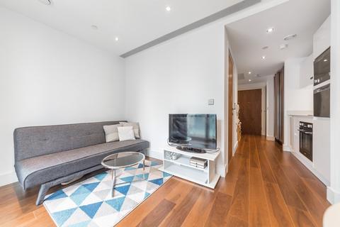 Studio to rent - Talisman Tower, 6 Lincoln Plaza, Canary Wharf, London, E14