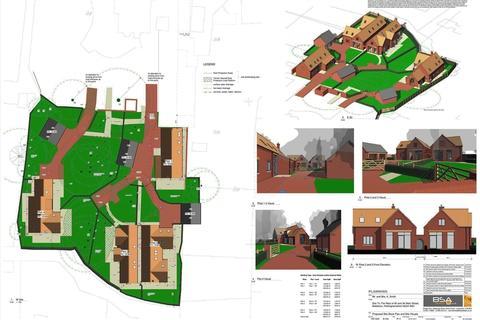 4 bedroom property with land for sale - Main Street, Balderton, Newark, Nottinghamshire. NG24 3NU