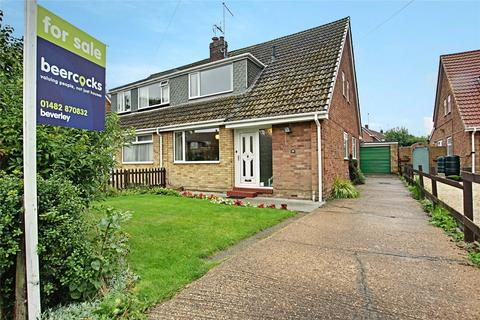 3 bedroom semi-detached house for sale - Canada Drive, Cherry Burton, Beverley, East Yorkshire, HU17