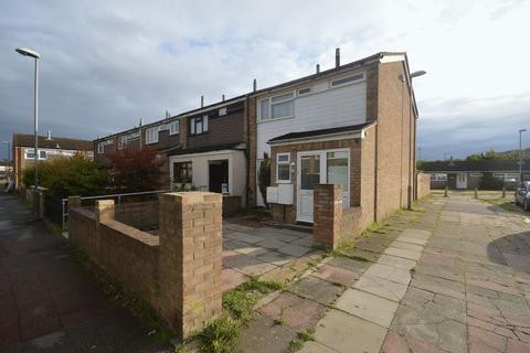 3 bedroom end of terrace house for sale - Thrales Close, Luton