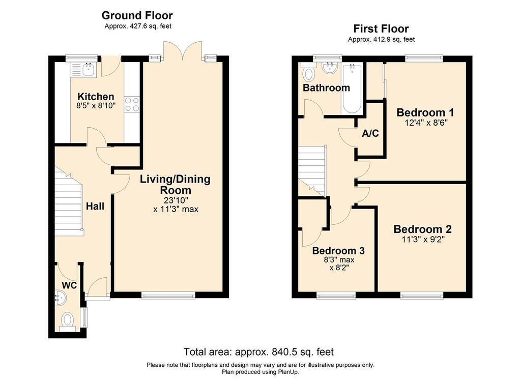 Floorplan: 19 Sandown Lees FP.jpg