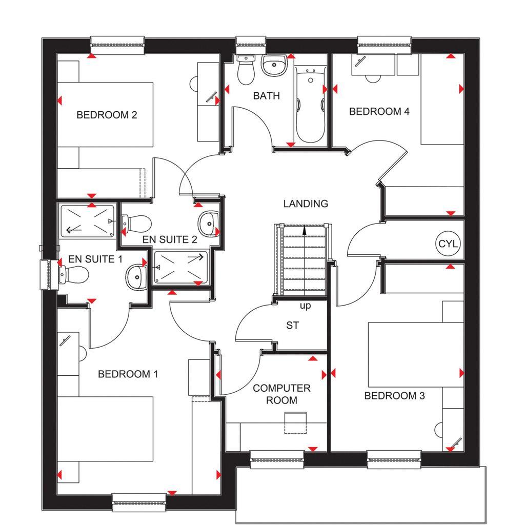 Floorplan 1 of 2: Cullen FF