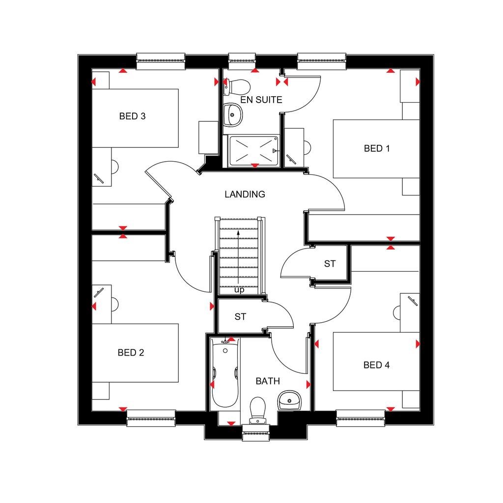 Floorplan 2 of 2: Fenton 2018 floorplan layout September 2019