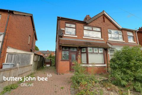 3 bedroom semi-detached house for sale - Tynedale Avenue, Crewe