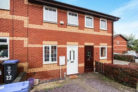 2 bedroom townhouse for sale - Springfield Court, Leek, Staffordshire, ST13