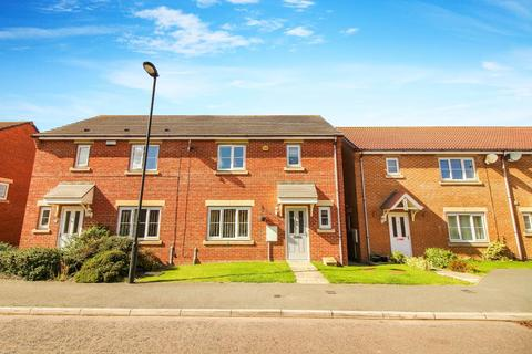 3 bedroom semi-detached house for sale - Greenrigg Place, Shiremoor, Newcastle Upon Tyne