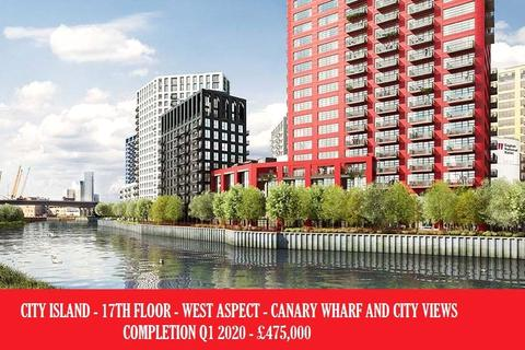 1 bedroom apartment for sale - Defoe House, City Island, Tower Hamlets, London, E14