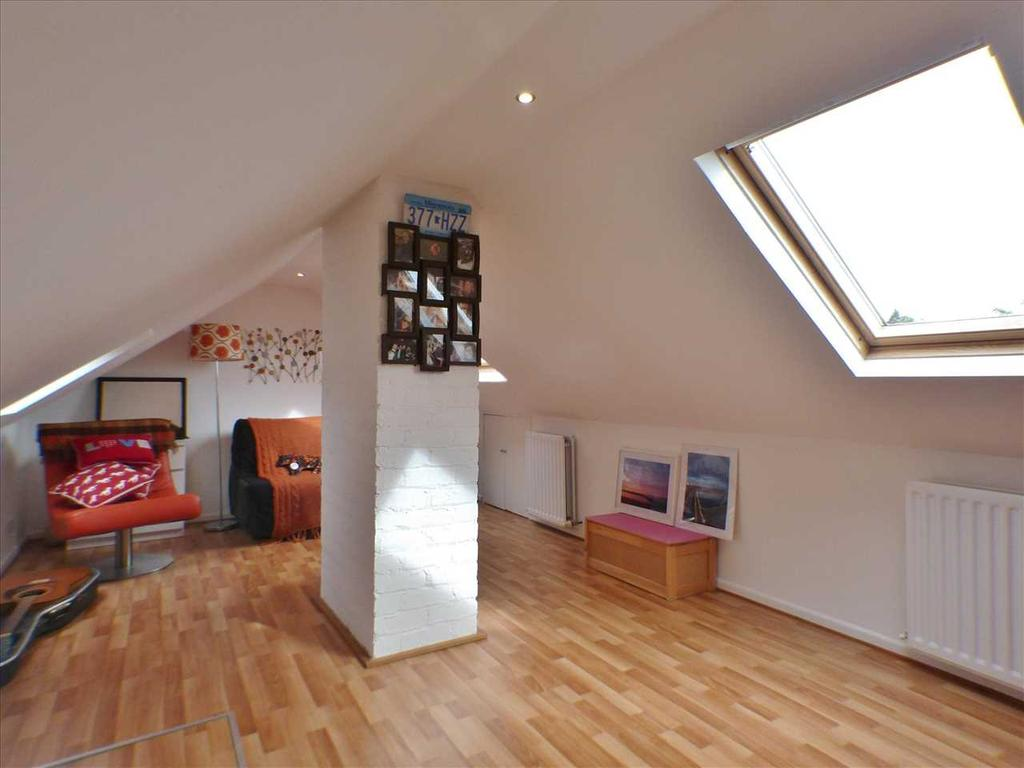 Floored & Lined Attic Space