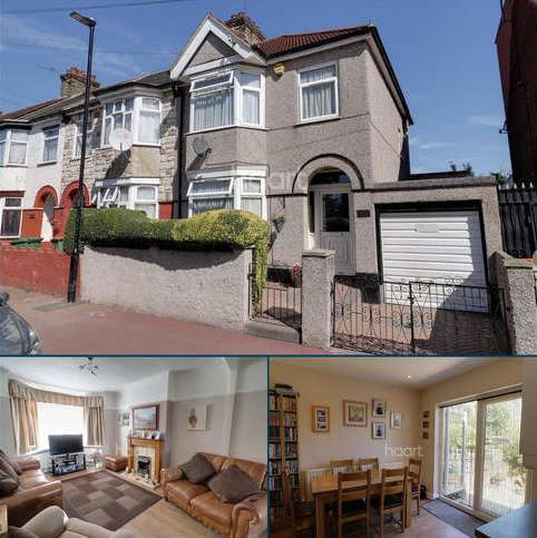 3 bedroom end of terrace house for sale - Folkestone Road