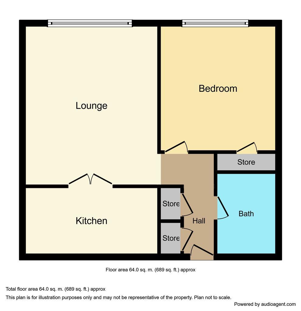 Floorplan: 32sand