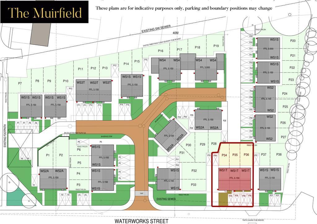 Muirfield Site Plan