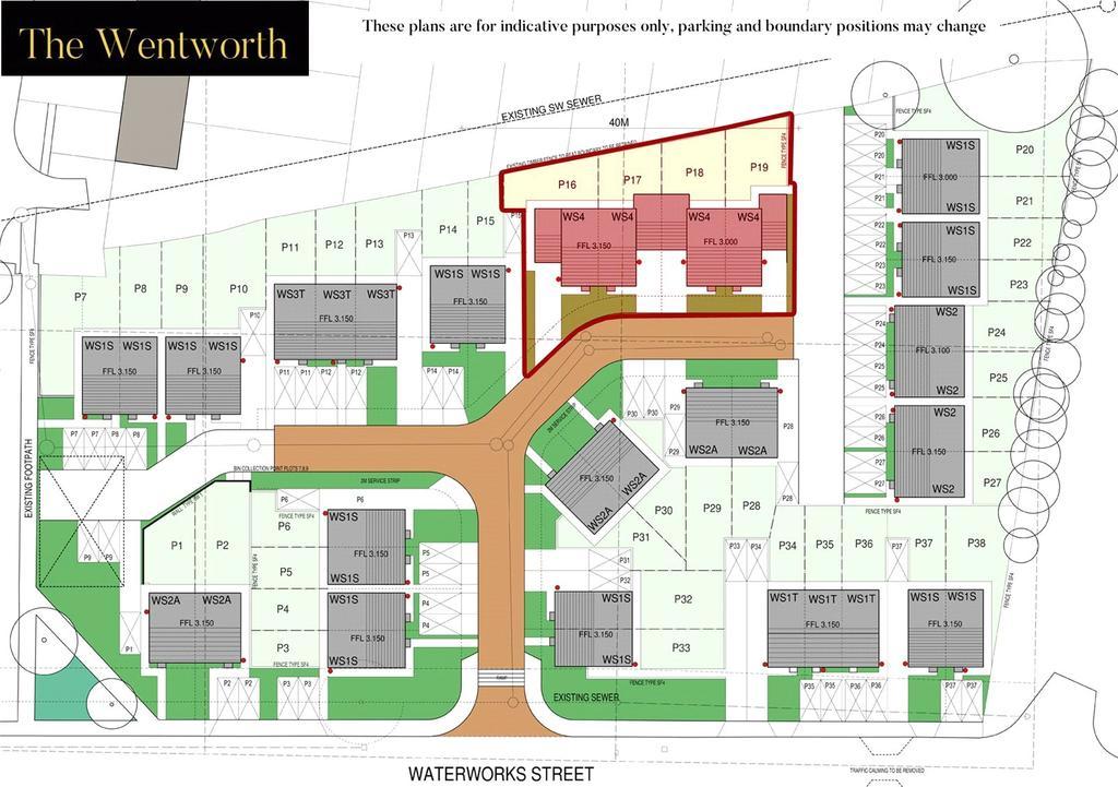 Wentworth Site Plan