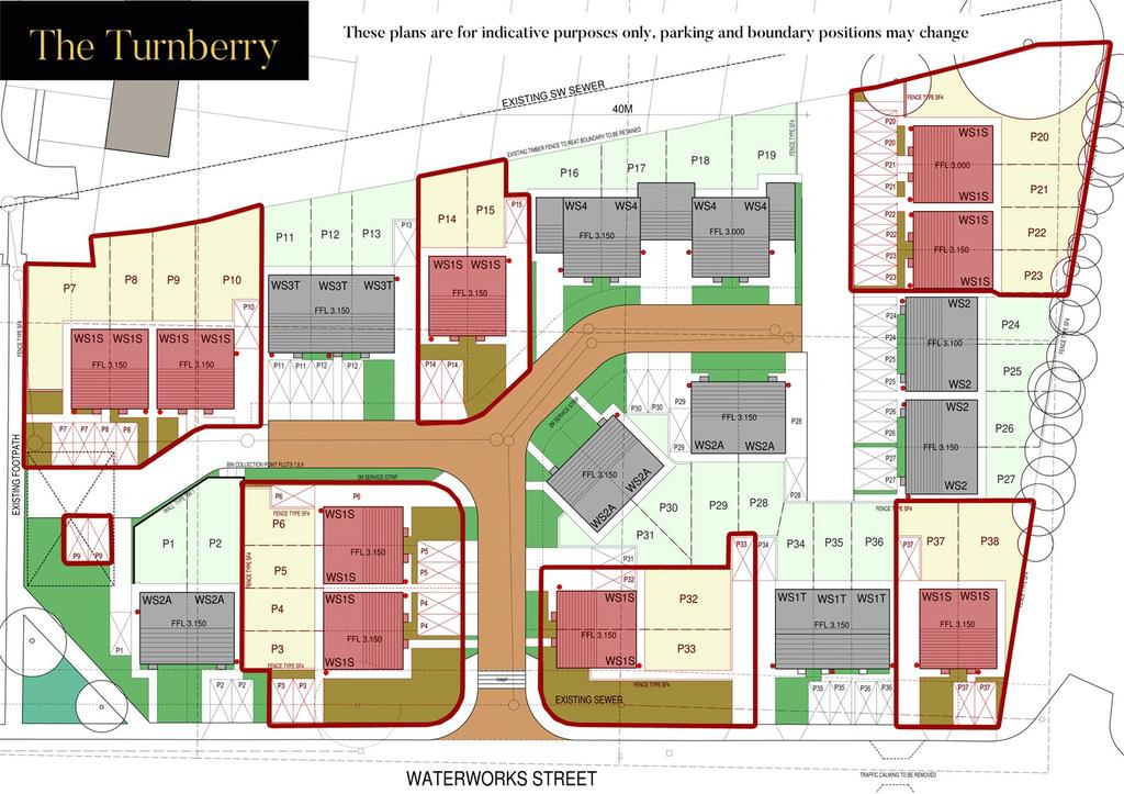 Turnberry Site Plan