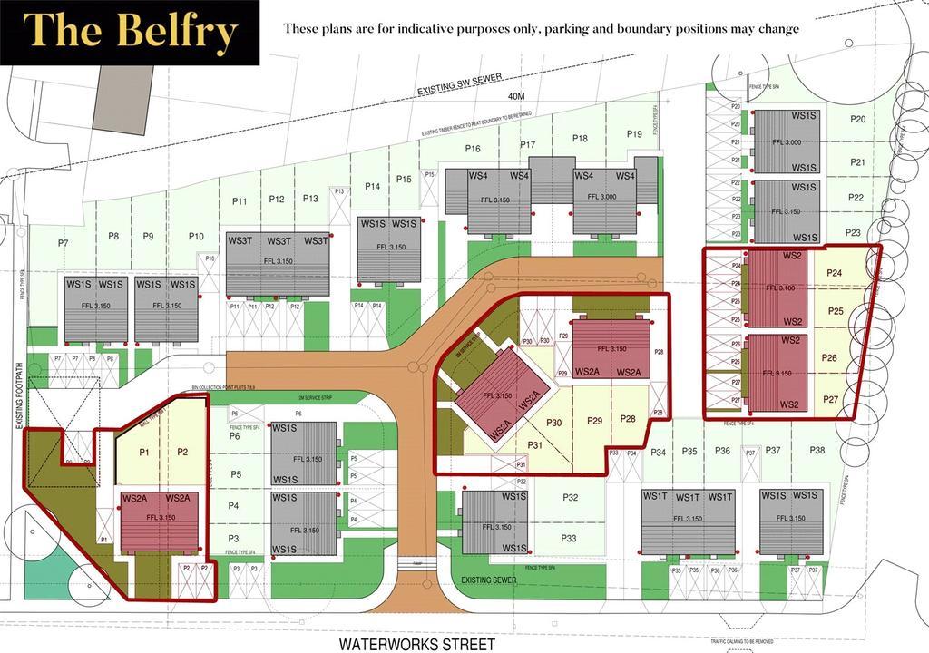 Belfry Site Plan