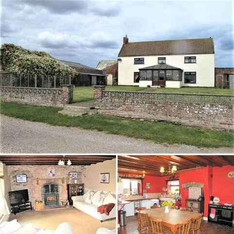 4 bedroom detached house for sale - SMALL HOLDING, High Grange Farm, Out Newton, Withernsea