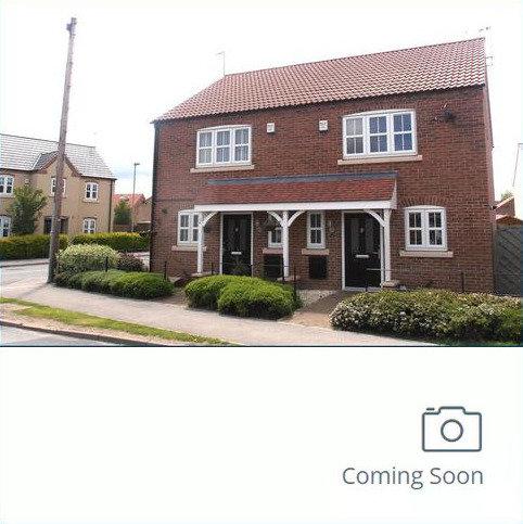 2 bedroom semi-detached house to rent - Station Road, Nafferton