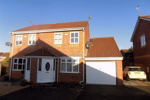 2 bedroom semi-detached house for sale - Durham Close, Bedlington