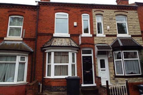 4 bedroom terraced house to rent - Tiverton Road, Selly Oak, Birmingham, B29 6DA