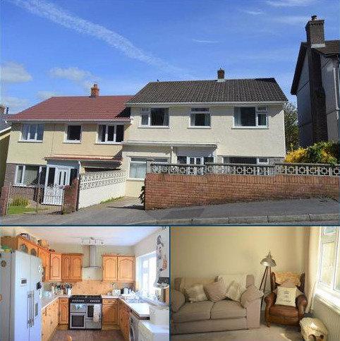 4 bedroom semi-detached house for sale - Nurses Corner, Penclawdd, Swansea