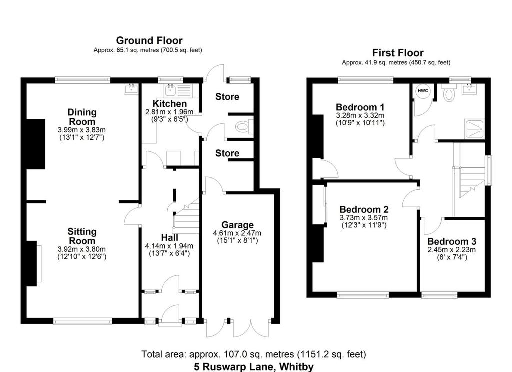Floorplan: FP 5 Ruswarp Lane, Whitby.JPG